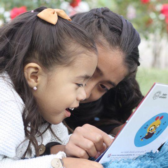 RTMP girl reading